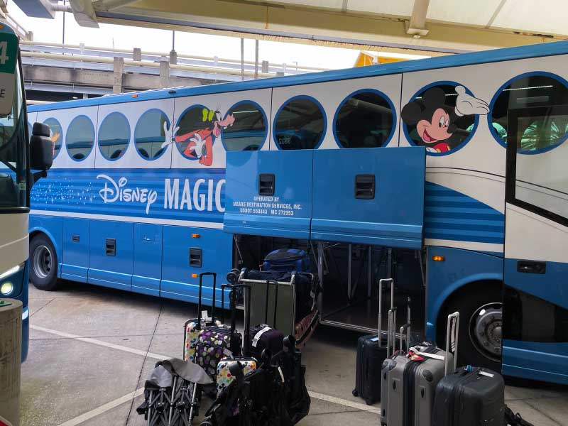 Disney's Magical Express Military Disney Tips Review
