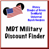 Military Disney Tips Discount Finder - Disney, Universal, Shades of Green, SeaWorld, Busch Gardens, find out what you qualify for