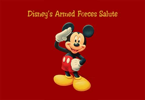 2019 Disney Armed Forces Salute