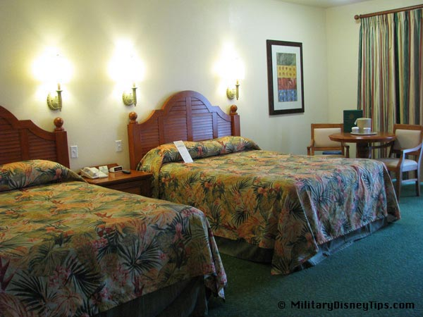 Shades Of Green Double Beds